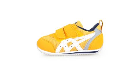 ASICS IDAHO BABY 3 男女兒童運動鞋-慢跑 亞瑟士 童鞋 黃白藍@TUB165-800@