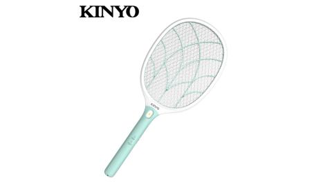 【KINYO 耐嘉】CM-3315 大網面分離式充電電蚊拍