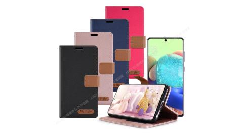 Mystyle for 三星 Samsung Galaxy A71 5G 經典時代可插卡皮套