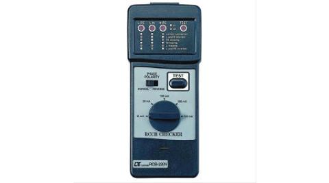 Lutron 漏電斷路器測試計 RCB-110V