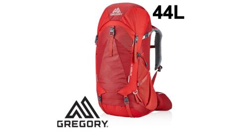 【Gregory】女 44L AMBER登山背包 火鶴紅 附雨罩 女款 (126868-T430) 登山背包
