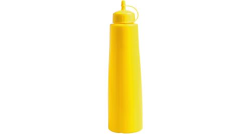 《EXCELSA》擠壓調味罐(黃500ml)