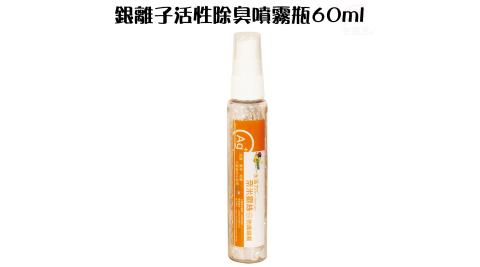 奈米銀離子活性除臭噴霧瓶60ml/SGS/Ag+/TUV/防霉/環保/Nano-SilverYarns/TTR/消臭性-NH3