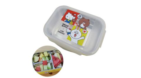 KT加Line 304不鏽鋼隔熱餐盒-三格 KLS-8112B