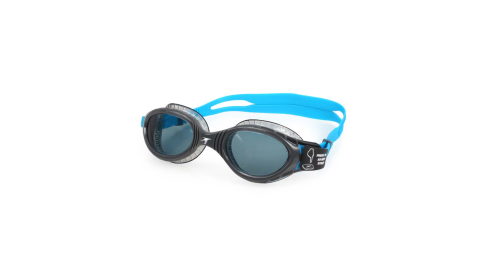 SPEEDO FUTURA BIOFUSE 成人運動泳鏡-游泳 蛙鏡 訓練 戲水 深灰藍銀@SD811315D643@