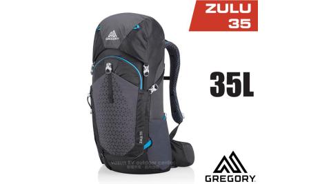 【美國 GREGORY】 Zulu 35 專業健行登山背包(35L_附全罩式防雨罩)_111583 臭氧黑