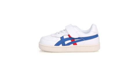 ASICS GSM TS 女小童運動鞋-慢跑 童鞋 亞瑟士 白紅藍@1184A023-100@