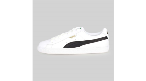 PUMA BASKET CLASSIC LFS 男經典復古休閒鞋-慢跑 白黑@35436722@