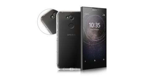 Xmart for Sony Xperia XA2 四角防護抗震氣墊保護殼