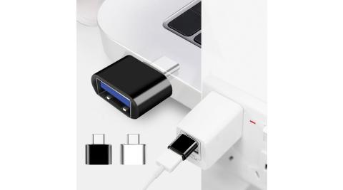 AISURE USB 轉成 Type-C / Type-C OTG轉接頭-1入