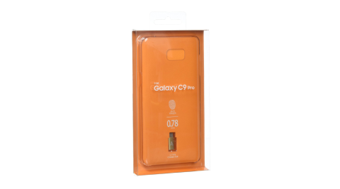 ANYMODE艾曼德 SAMSUNG GALAXY C9 Pro 透明保護殼+轉接頭組(盒裝)
