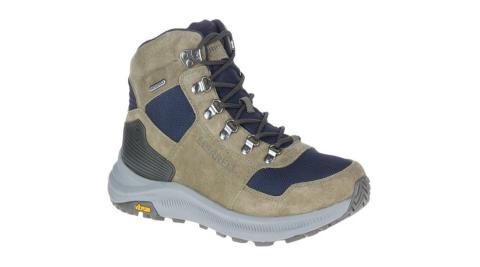 【野外營】MERRELL ONTARIO 85 MESH MID WP 山系風格復古登山鞋 男(500159)健行鞋