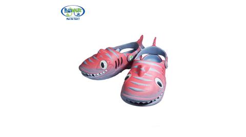 Polliwalks童鞋-鯊魚(橘紅)
