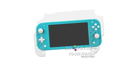 2入任天堂NintendoSwitchLite主機抗污防指紋保護膜保護貼