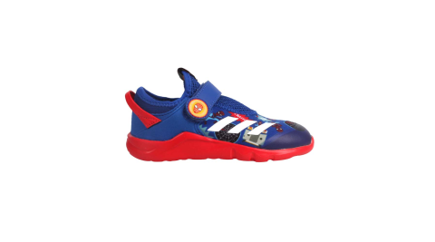 ADIDAS ACTIVEFLEX SPIDER-M AC I 男小童休閒運動鞋-慢跑 藍紅白@FV4265@