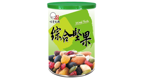 【味覺生機】生機綜合堅果罐買4罐送2罐(360g/罐)