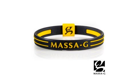 MASSA-G Energy Plus雙面鍺鈦能量手環-黑黃