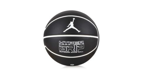 NIKE JORDAN HYPER GRIP 4P 7號籃球-7號球 飛人喬丹 黑白@J000184409207@