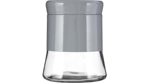 《Premier》旋蓋玻璃收納罐(灰800ml)_0.33L<收納罐