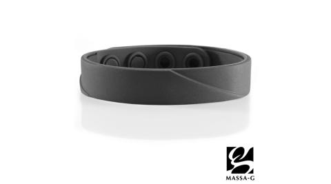MASSA-G【ARC Solo-Black】鍺鈦手環