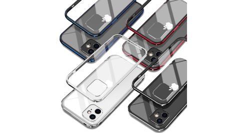 DAPAD for iPhone 12 Mini 5.4吋 鋁合金雙料背蓋保護殼