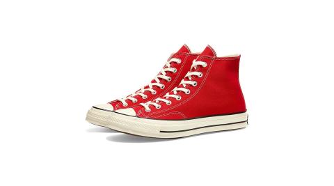 CONVERSECHUCK70紅色男女高筒帆布鞋