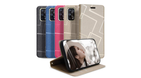 GENTEN for REALME X7 PRO 極簡立方磁力手機皮套