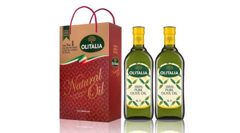 【Olitalia奧利塔】義大利橄欖油禮盒 (2罐/組) 6組 共12罐/組