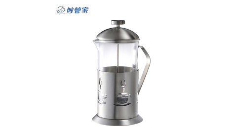 妙管家 1.1L特級304不鏽鋼沖茶器 HKP-1100 超值二入