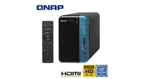QNAP 威聯通 TS-253B-4G 2Bay 網路儲存伺服器
