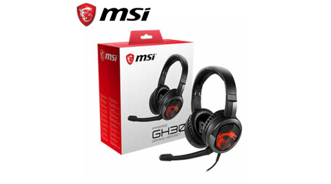 MSI 微星 Immerse GH30 V2 耳罩式電競耳機麥克風
