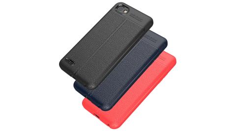 VXTRA LG Q6 手感皮紋風 軟性手機殼