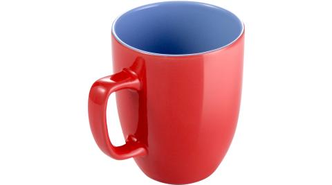 《TESCOMA》Crema雙色馬克杯(紅藍290ml)