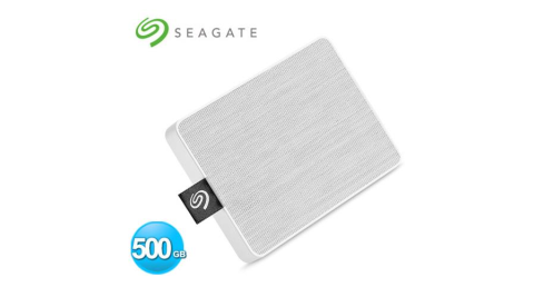 Seagate One Touch 500GB 外接SSD 晨霧白