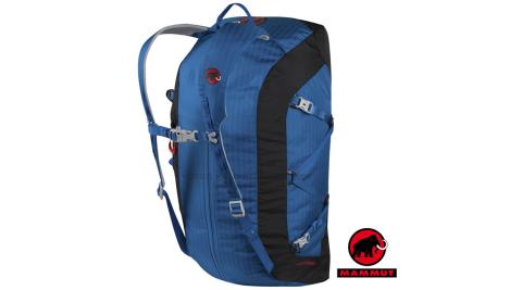 【瑞士 MAMMUT 長毛象】Cargo Light 40L 超輕量可拆式透氣耐磨裝備袋.可當背包.手提包/03880-5611黯青