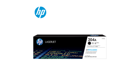 HP 204A 黑色 原廠 LaserJet 碳粉匣 CF510A