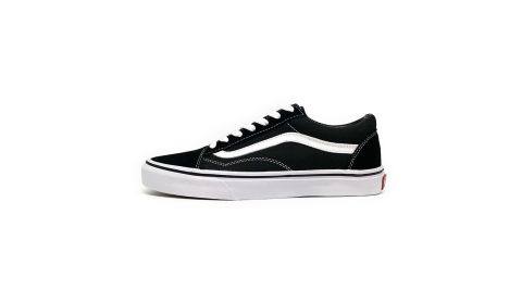 VANS Old Skool Black/White 經典復刻帆布鞋 (男女鞋)