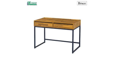 IHouse-【一同防疫,送口罩】布魯斯 集層木書桌