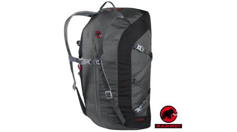 【瑞士 MAMMUT 長毛象】Cargo Light 40L 超輕量可拆式透氣耐磨裝備袋.可當背包.手提包/03880-0051鈦金灰