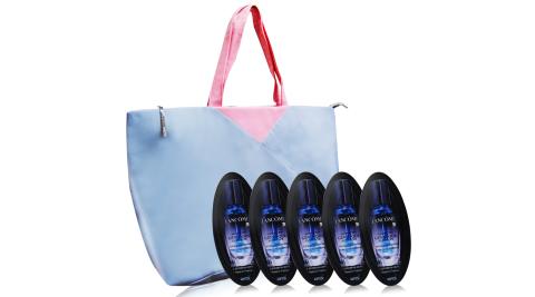 LANCOME 蘭蔻 超進化肌因活性安瓶(4ml)X5送法式旅行袋