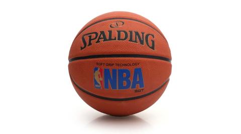 SPALDING SGT 深溝柔軟膠 斯伯丁籃球-NBA 戶外 運動 橘@SPA83192@