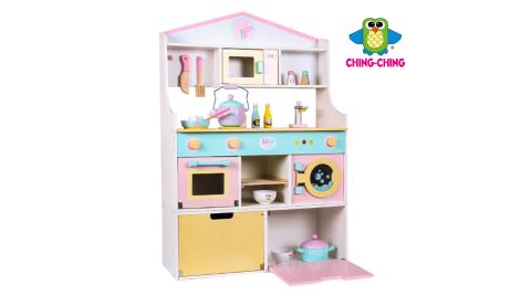 【親親】木製廚房組合加冰箱(MSN19031)