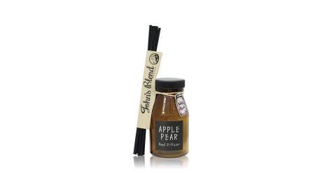 日本John's Blend 室內香氛擴香瓶(140ml/瓶)(蘋果甜梨APPLE PEAR)