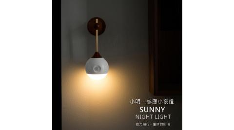 SOTHING 小明人體感應燈 小夜燈 光控+人體感應 LED燈/玄關燈/床頭燈 磁鐵吸附/壁掛