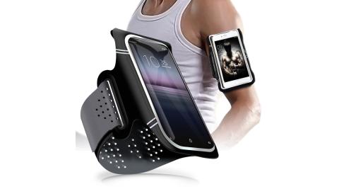 CITY 超薄萊卡布 for SONY Xperia 10 II / Sony Xperia 1 II 防潑透氣手機運動臂套