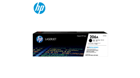 【HP 惠普】W2110A黑色碳粉匣(206A)