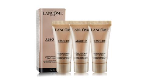 LANCOME 蘭蔻 絕對完美黃金玫瑰修護乳霜(5ml)X3