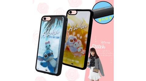 迪士尼正版授權 iPhone 8/iPhone 7 4.7吋 史迪奇布偶版 防滑手機殼 附吊飾孔