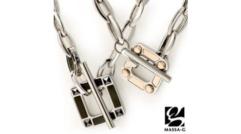 MASSA-G Deco系列【Loop】迴圈 鍺鈦對鍊