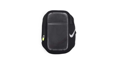 NIKE 手機萬用臂包-5.5吋手機適用 手機包 慢跑 路跑 黑螢光綠@NRN66082OS@